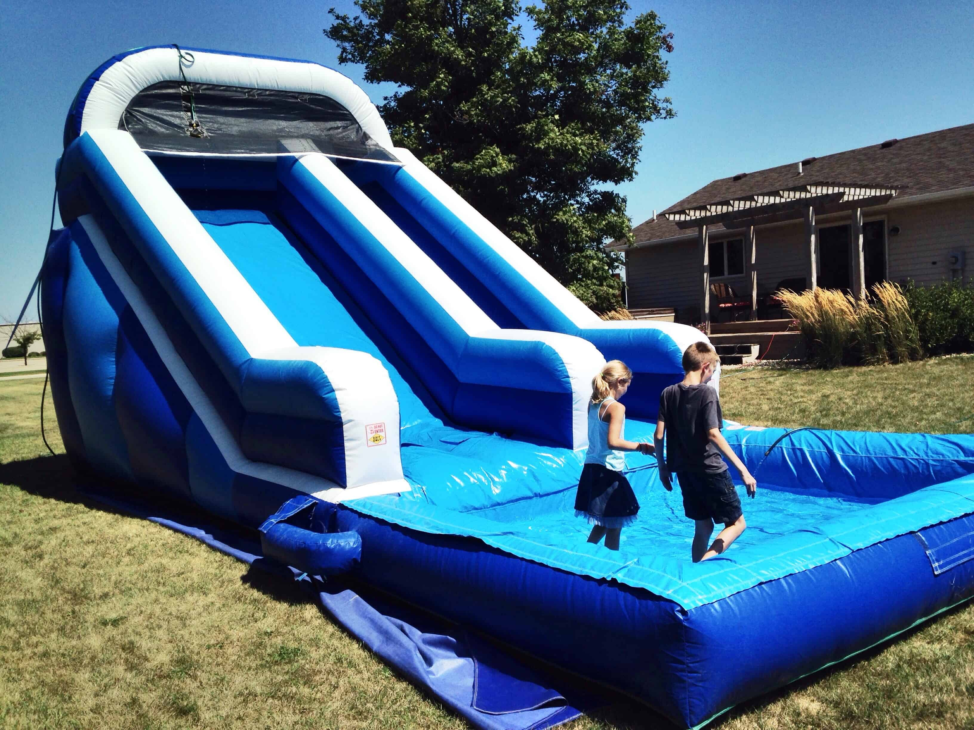 how to properly care for your inflatable water slide inflatables life - Inflatable Water Slide